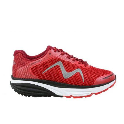 MBT fűzős sportcipő Colorado X textil piros