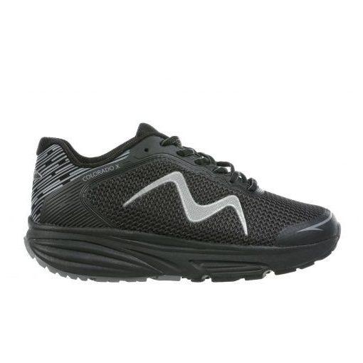 MBT fűzős sportcipő Colorado X textil fekete