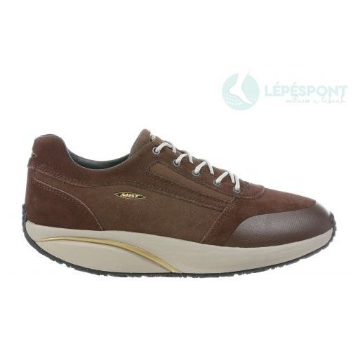 MBT fűzős cipő Naro nubuk barna