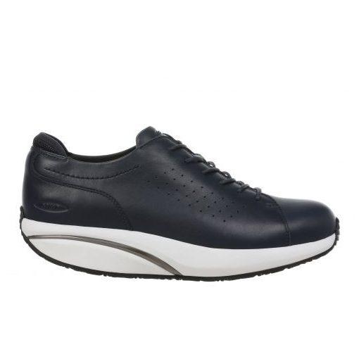 MBT fűzős cipő Jion bőr sötétkék