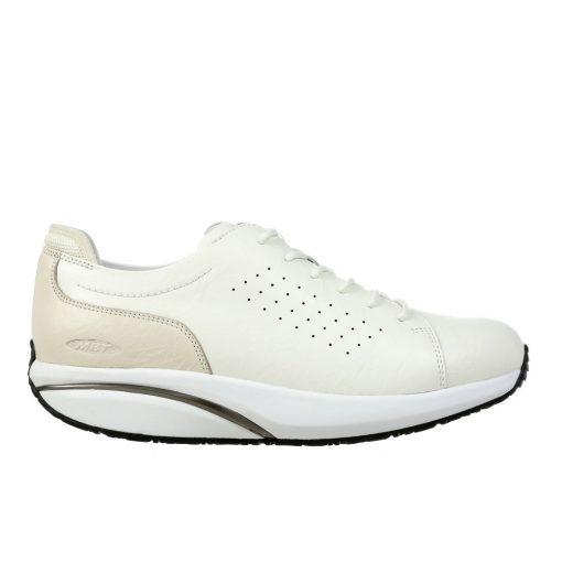 MBT fűzős cipő Jion bőr fehér
