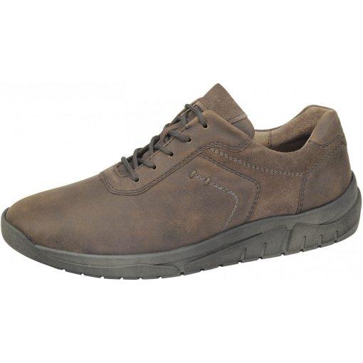 Waldlaufer kényelmi fűzős cipő Hanson bőr sötétbarna