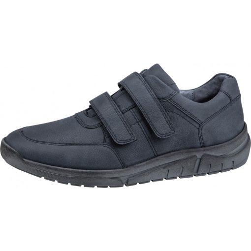 Waldlaufer kényelmi tépőzáras cipő Hanson nubuk kék