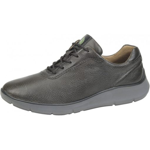 Waldlaufer kényelmi fűzős cipő Haris bőr barna