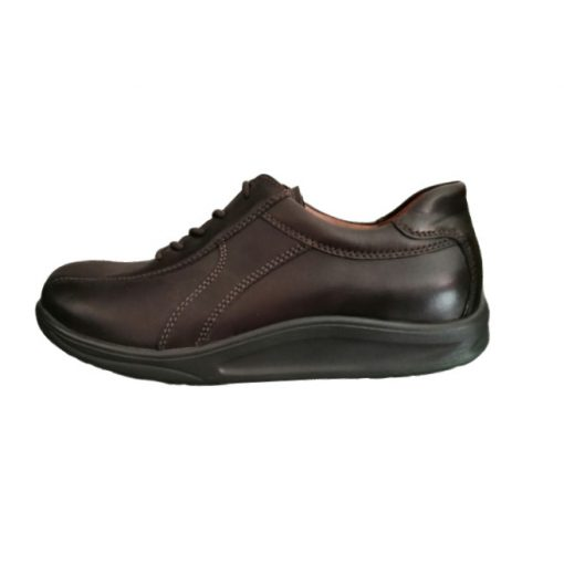 Waldlaufer dynamic gördülő talpú fűzős cipő Hopkin bőr barna