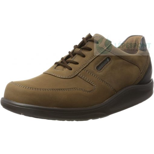 Waldlaufer dynamic gördülő talpú fűzős cipő Hopkin bőr barna fekete