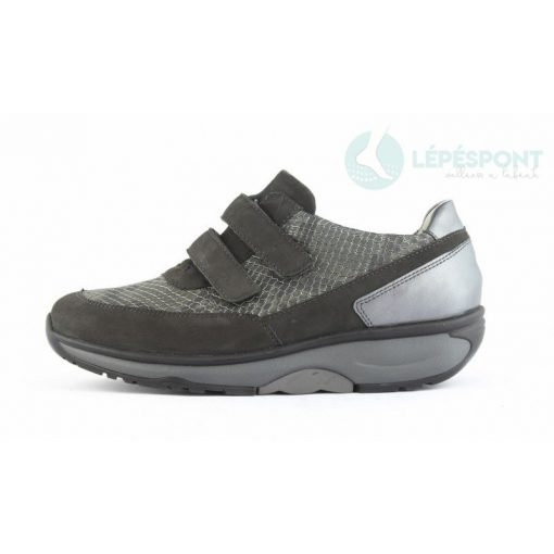 Waldlaufer dynamic gördülő talpú tépőzáras cipő H-Sonja nubuk szürke