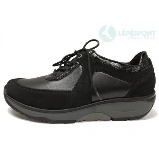 Waldlaufer dynamic fűzős cipő H-Sonja bőr sztreccs fekete